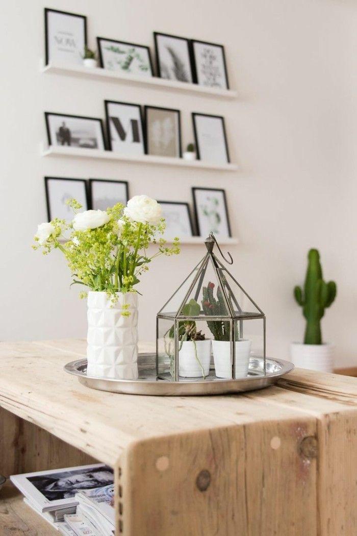 Inneneinrichtung Skandinavische Möbel Trends Design Kakteen
