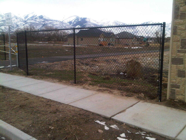 Image Result For Black Chainlink Fence 96 High Black Chain Link