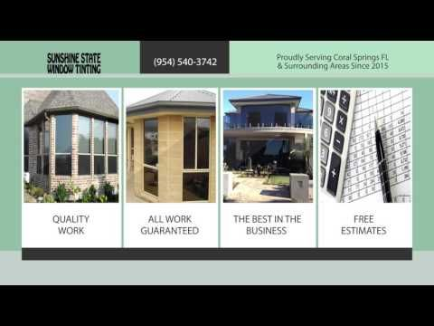 Home Window Tinting Fort Lauderdale Fl 954 540 3742 Tinted Windows Tinted House Windows Windows