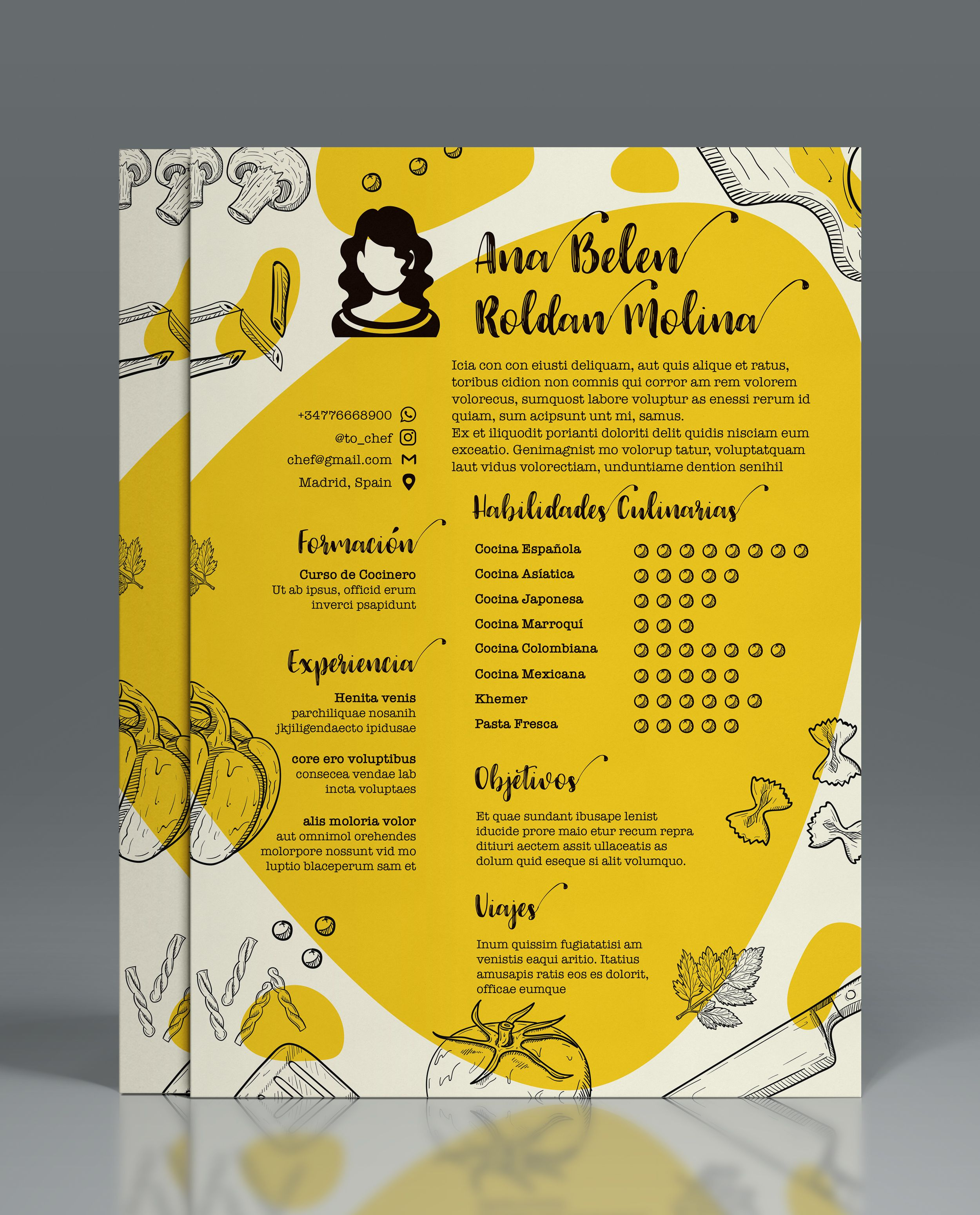 Check out this behance project resume cvcreative