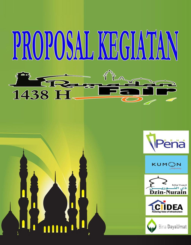 Proposal Kegiatan Ramadhan Fair Pdf Free Download Proposal