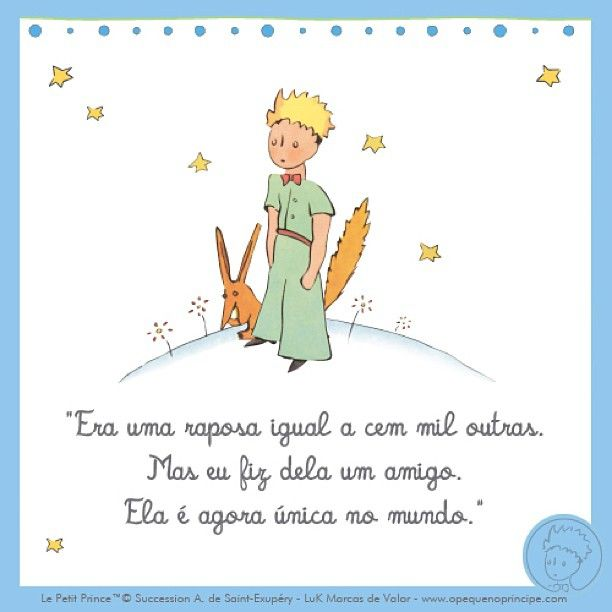Frases Frases Do Pequeno Principe Amizade The Little Prince