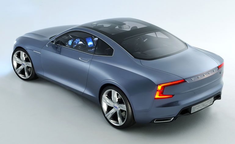 Volvo Concept Coupe Unveiled Volvo Cars Volvo Coupe Coupe Cars