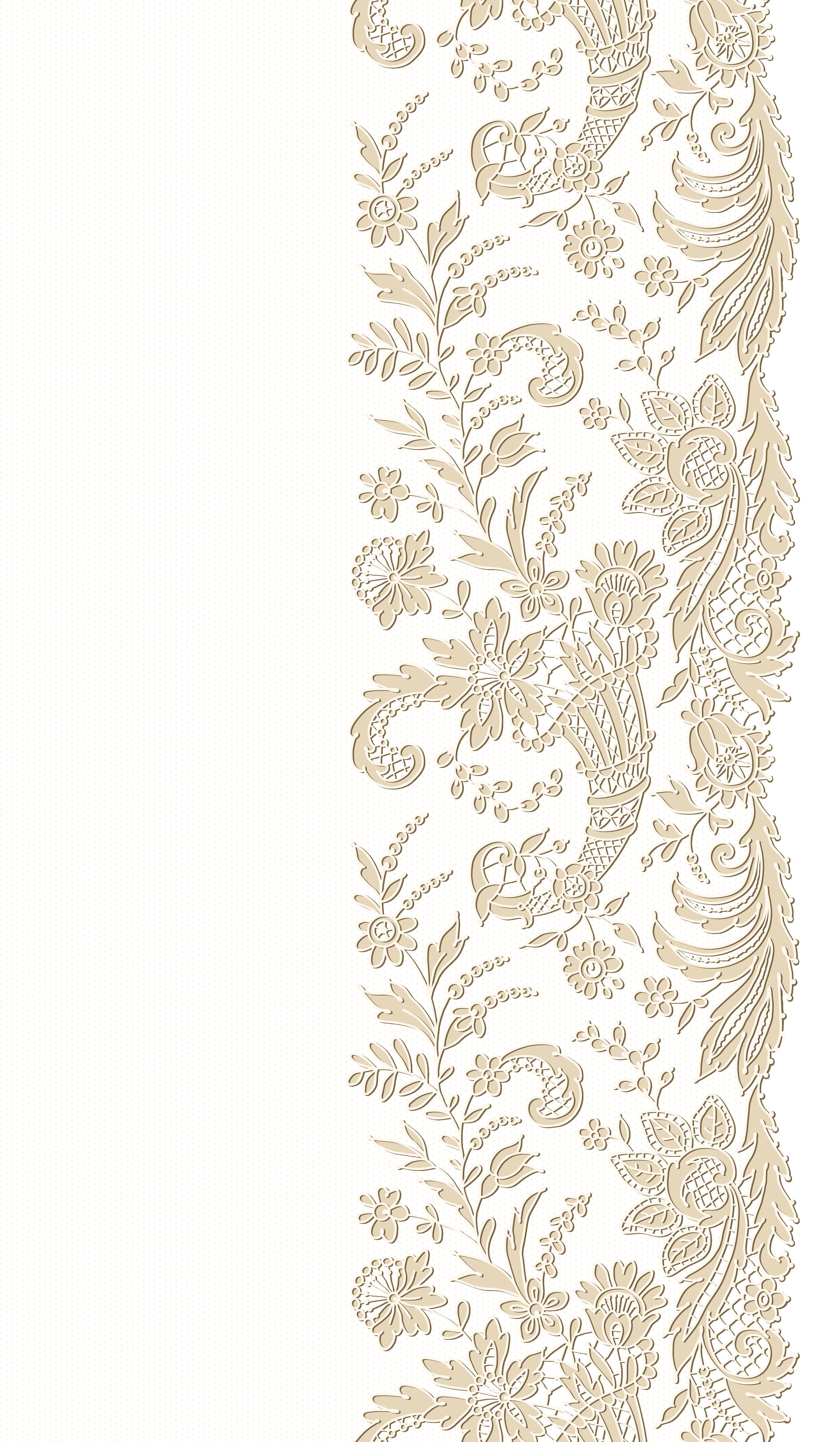 Lace Transparent Png Clip Art Image Ornamenta 231 227 O Festa