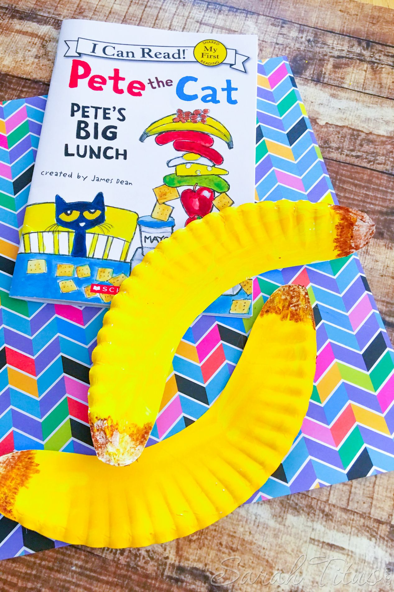 Pete The Cat Banana Craft