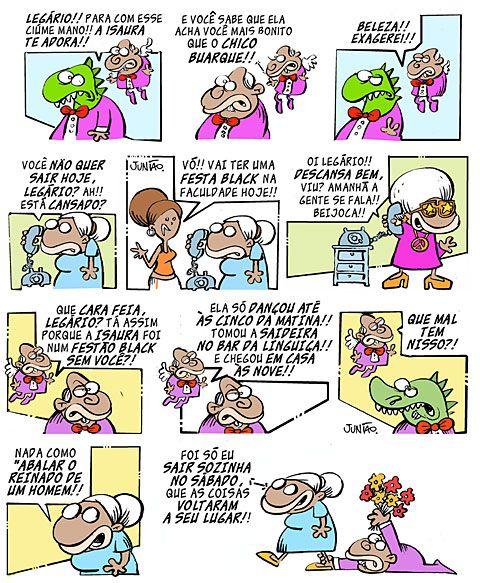 Quem E Dona Isaura Adoro Voce Exagerado Chiquinho