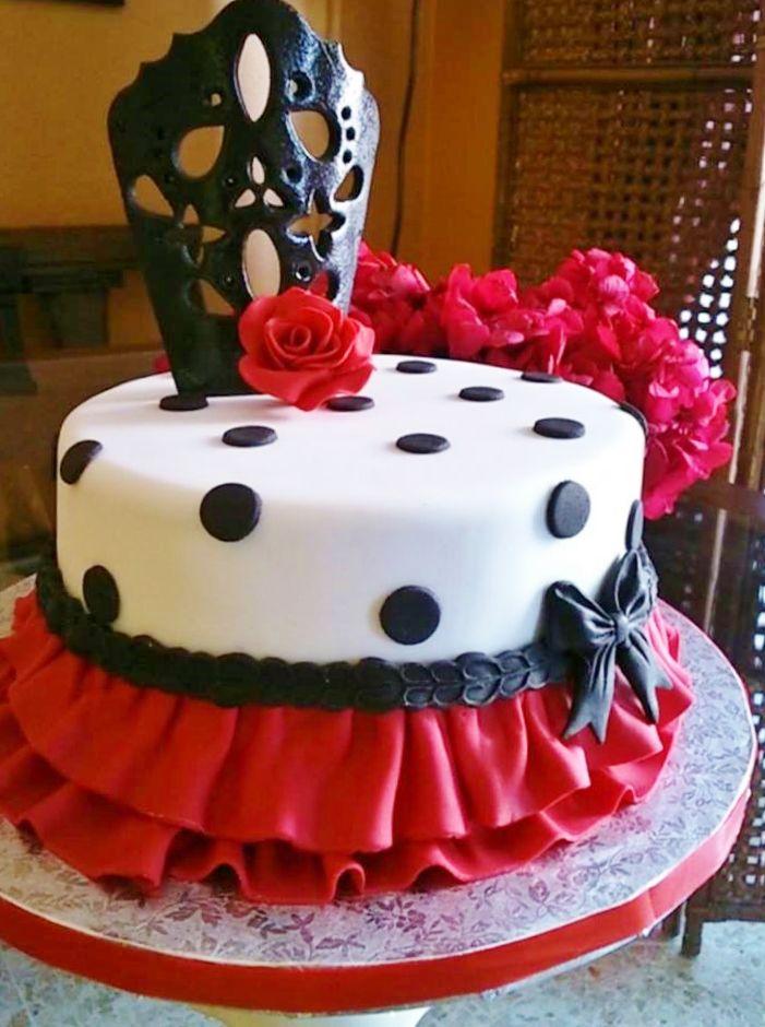 Flamenco Cake Spanish Themed Cakes Espana Pinterest Cake