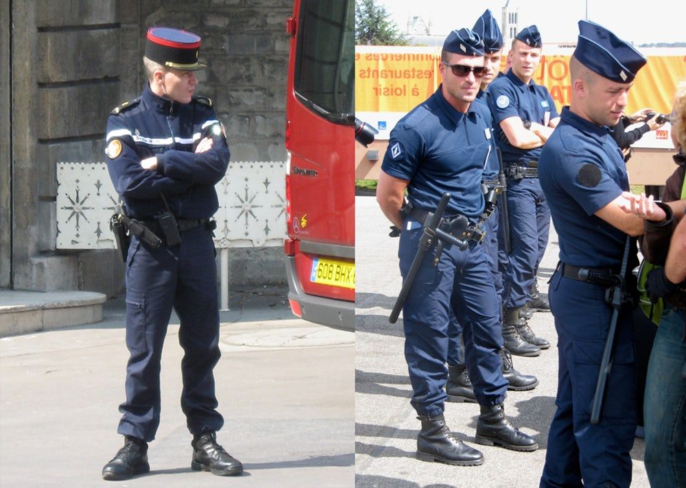 what police uniforms look like around the world