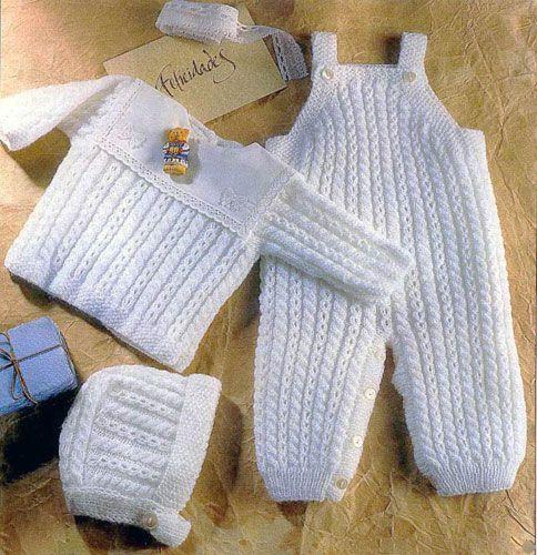 Комбинезон для новорожденного спицами выкройка, схема 78
