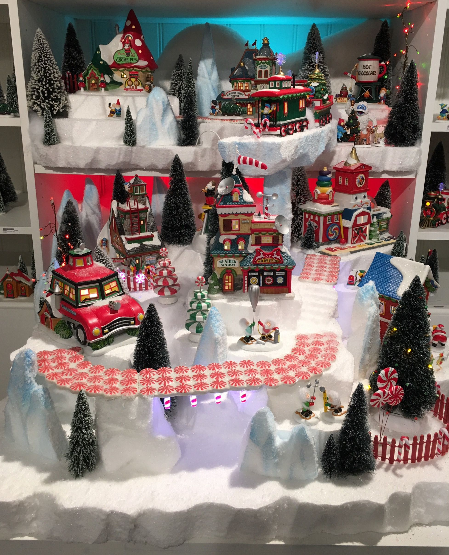 North Pole | Showcase Displays | DEPT. 56 | Pinterest | North pole ...
