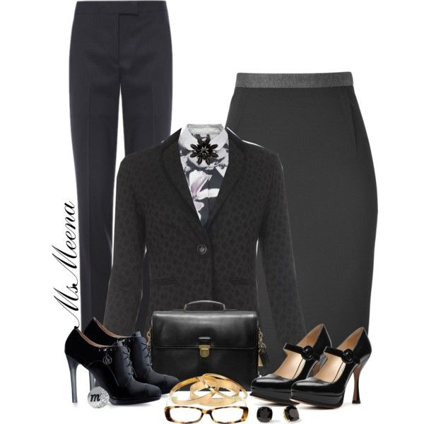 Paul Smith Business look, created by msmeena on Polyvore