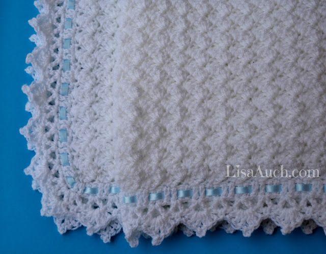 FREE Crochet Pattern Baby Blanket EASY - Little Clouds Crochet ...