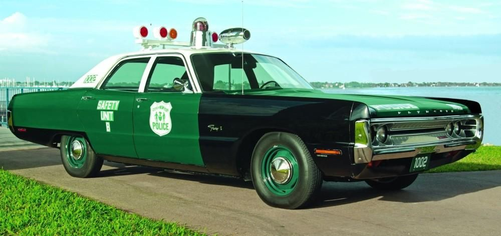 Furious Justice 1971 Plymouth Fury Police Car Police Cars Old