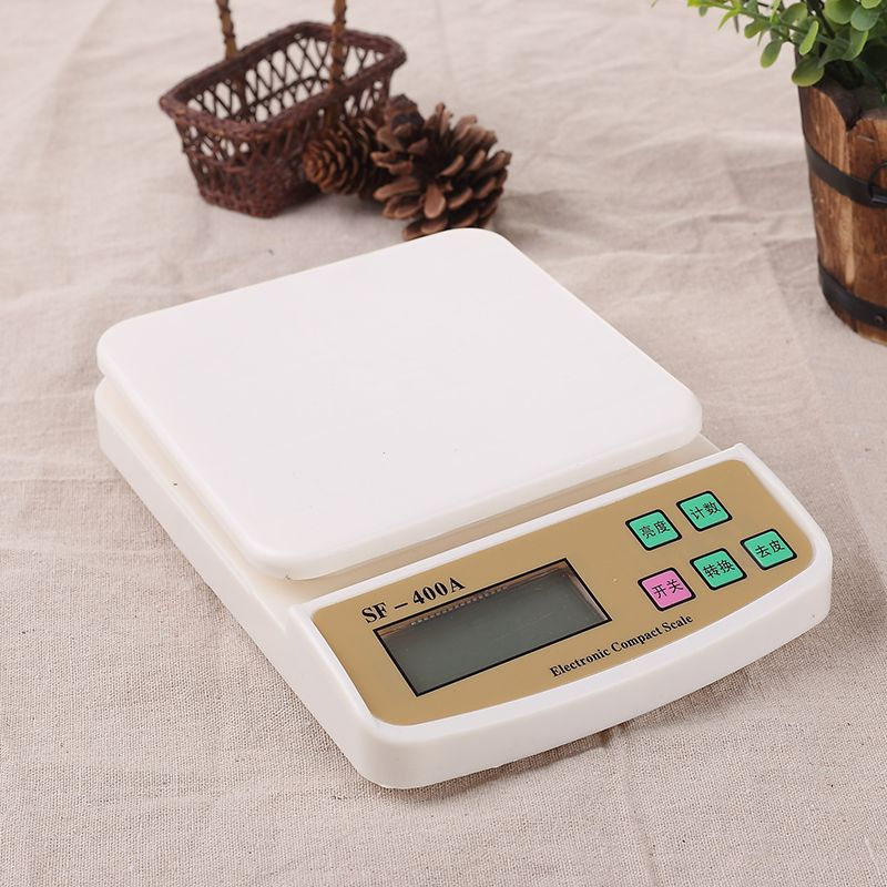 10kg X 1g Digital Postal Kitchen Counting Weighing Scale