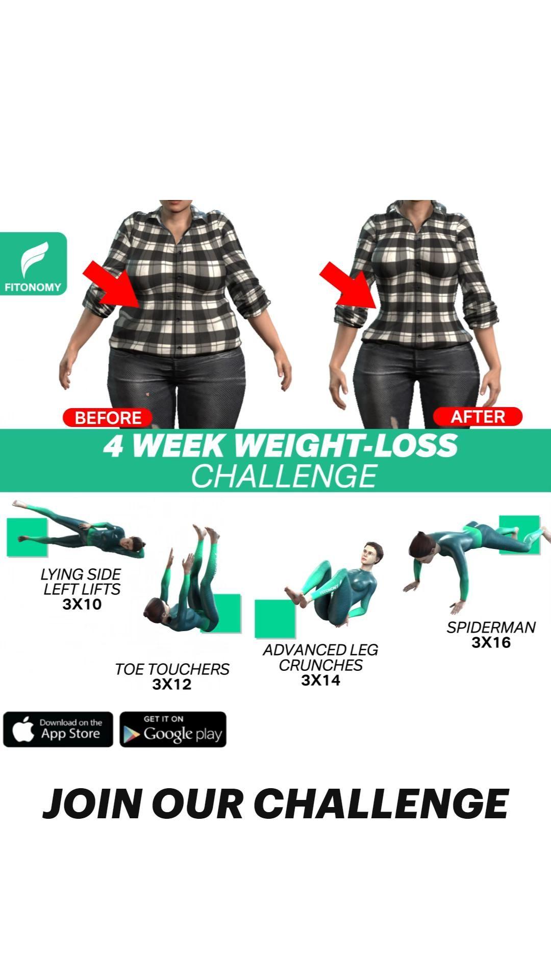 4 WEEK WEIGHT LOSS CHALLENGE