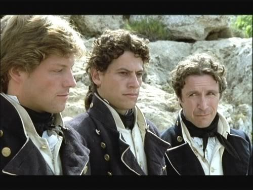 Archie, Horatio and William Makes me wanna watch Hornblower