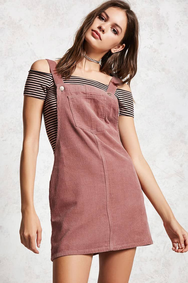 13157fdf97 Product Name Corduroy Overall Dress