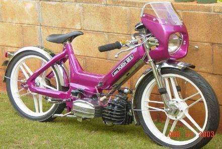 Puch Maxi custom. I want this!!! ANC