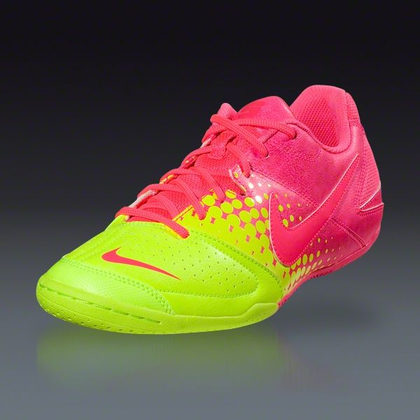 614af7456c34 Nike Nike5 Elastico - Pink Flash Volt Pink Flash Indoor Soccer Shoes ...