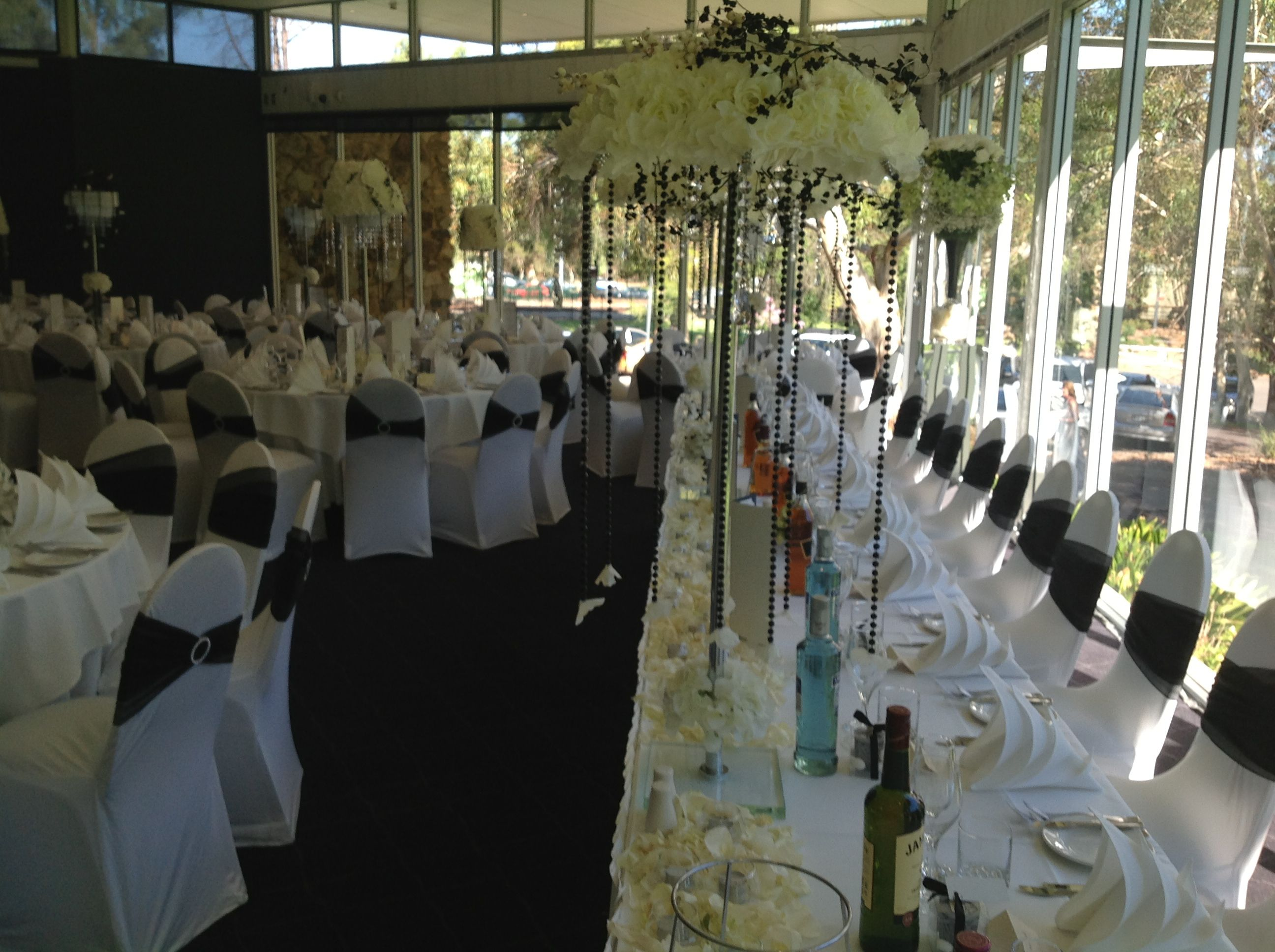 Adelaide wedding reception decoration with black and white theme adelaide wedding reception decoration with black and white theme houseofthebride junglespirit Image collections