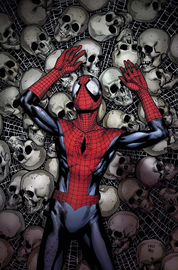 brianmichaelbendis:    The death of ultimate Spiderman by Steve Mcniven