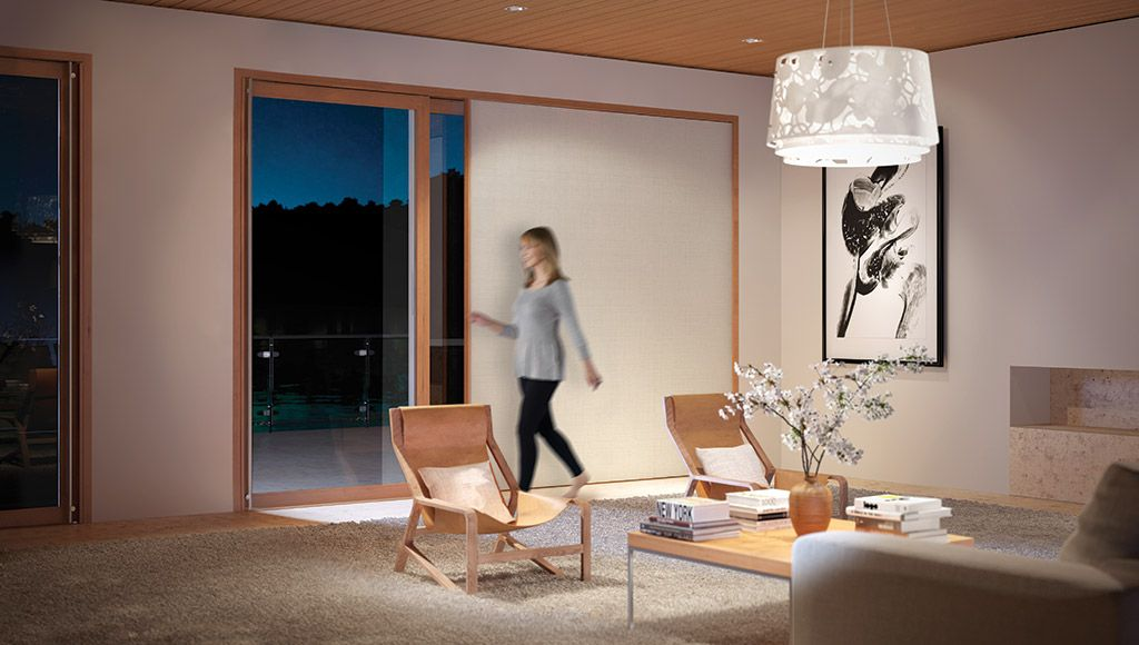 Doors Gallery | Centor UK Doors with integrated side-blinds and/or mesh screens & Doors Gallery | Centor UK Doors with integrated side-blinds and/or ...