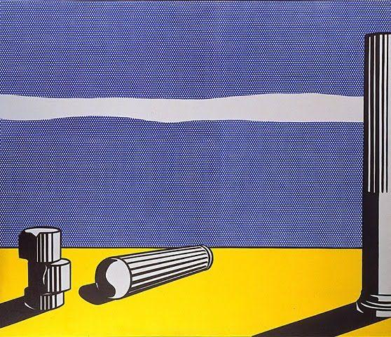 Roy Lichtenstein - Ruins (1965)