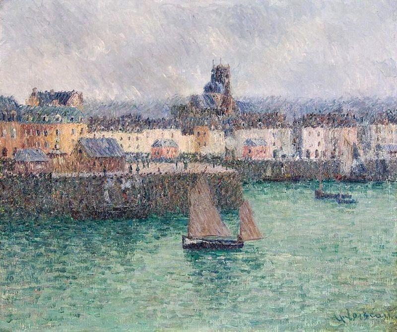 Gustave Loiseau. Port of Dieppe 02 | Flickr - Photo Sharing!