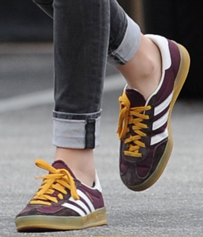 Kristen Stewart Grabs Food with Stella Maxwell in Adidas Sneakers