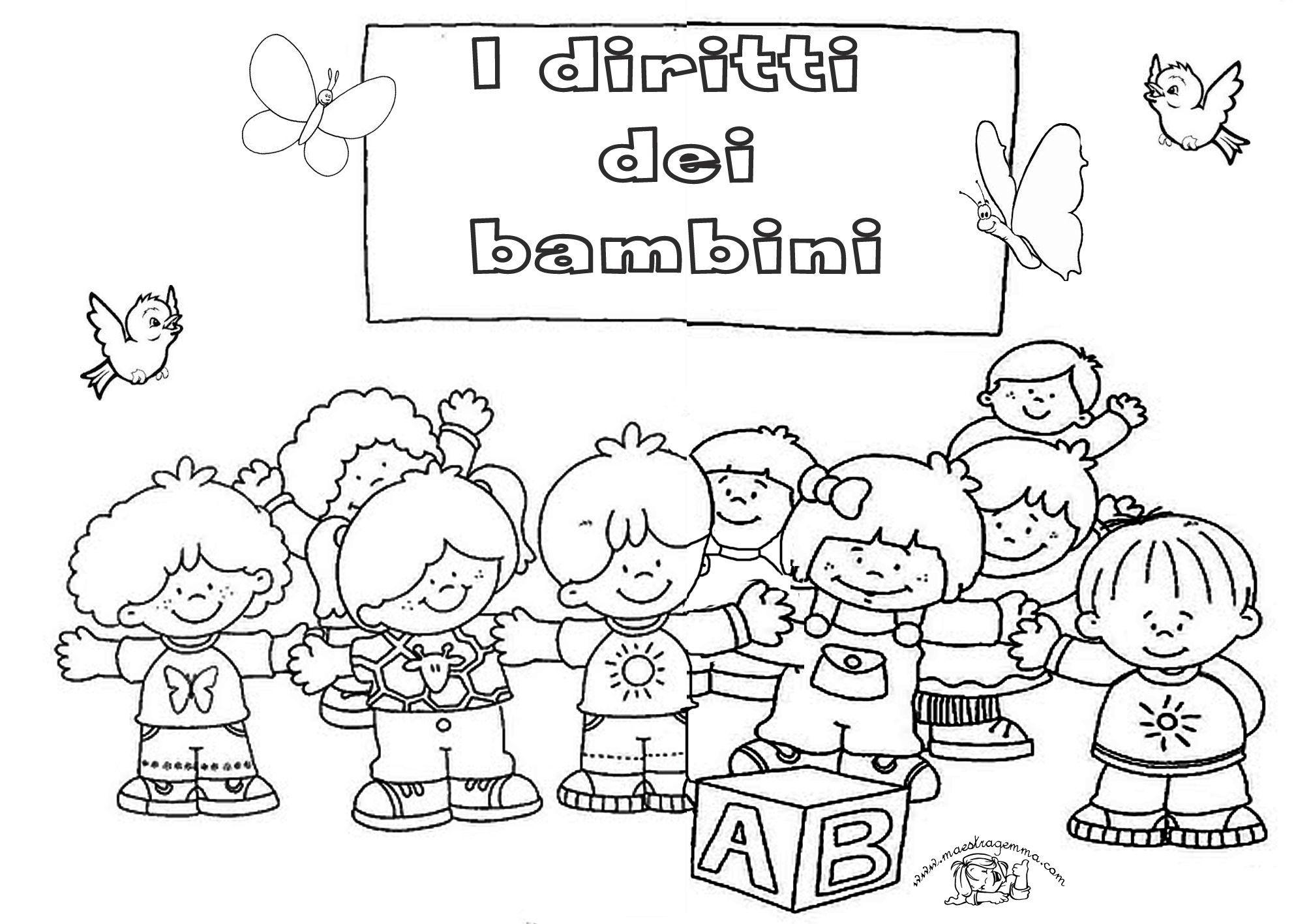1984 1417 diritti dei bambini pinterest school for Maestra gemma diritti dei bambini