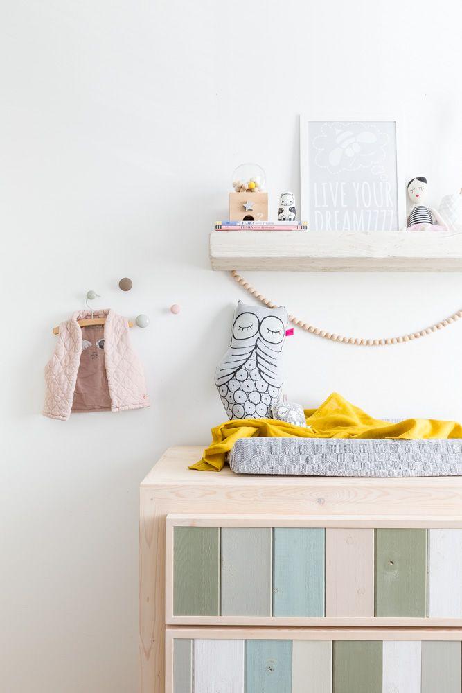Habitaci n infantil de estilo n rdico para ni a interior for Habitacion infantil estilo nordico