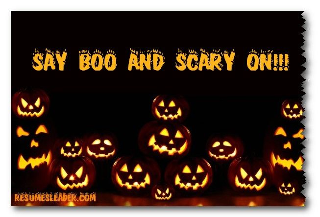 Marvelous Say Boo And Scary On )! Have A Happy Halloween! #Halloween