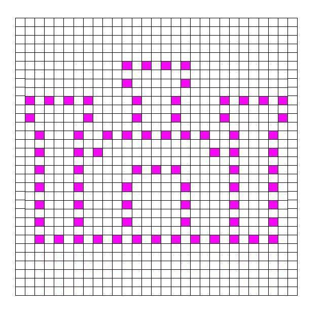 Ravelry: Castle Bobble Chart by Kari Philpott | Szydełkowe wzory na ...