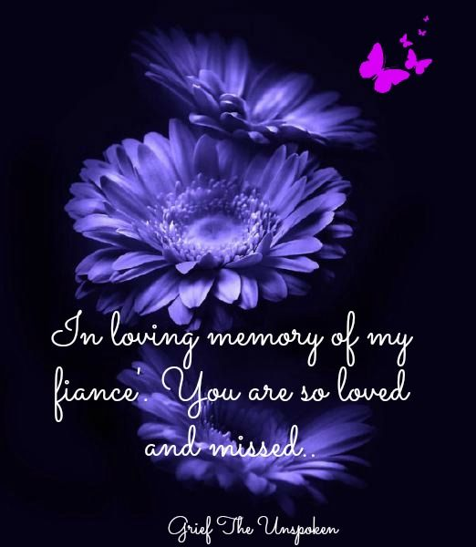 Grieving the loss of a fiance