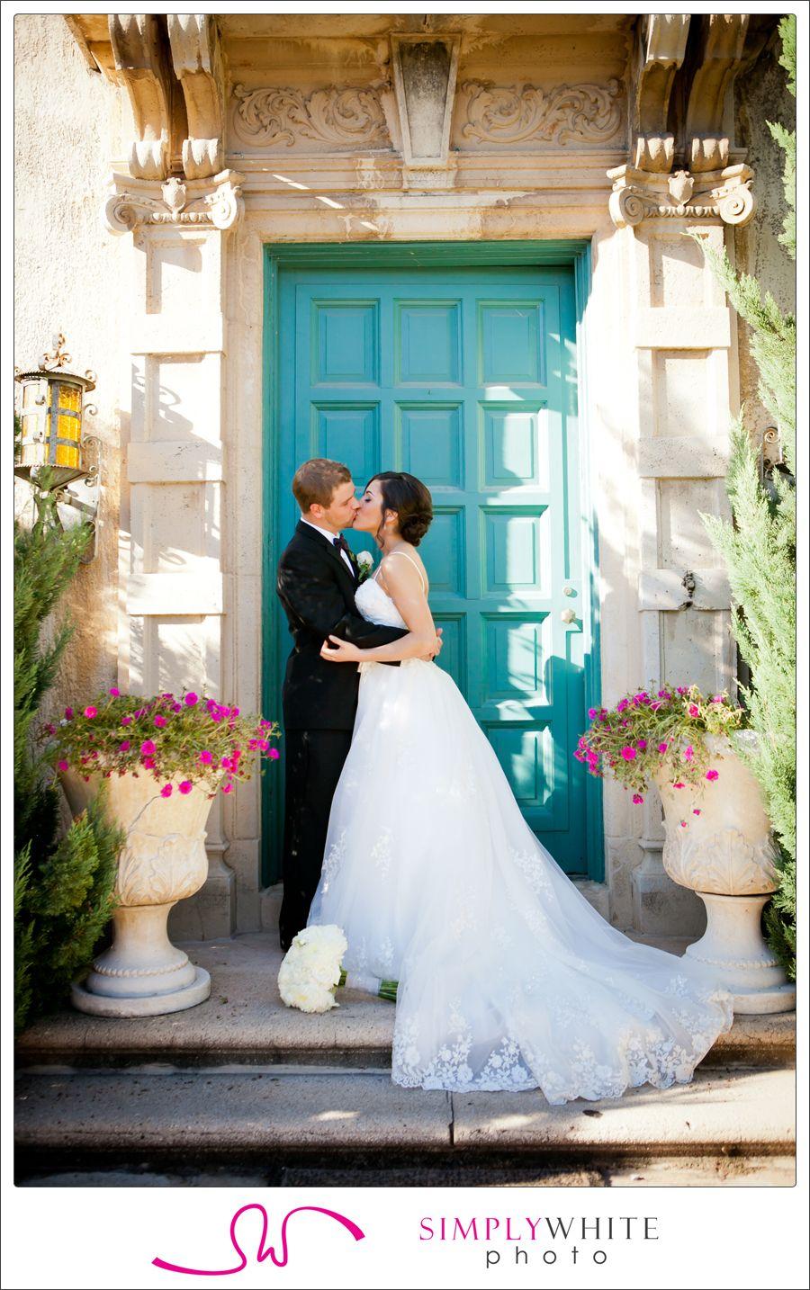 Laura + Ryan Dresser Mansion Teal blue weddings, Tulsa