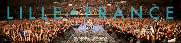 O Concert Lille upcoming dates | 30 seconds to mars | pinterest | mars, thirty