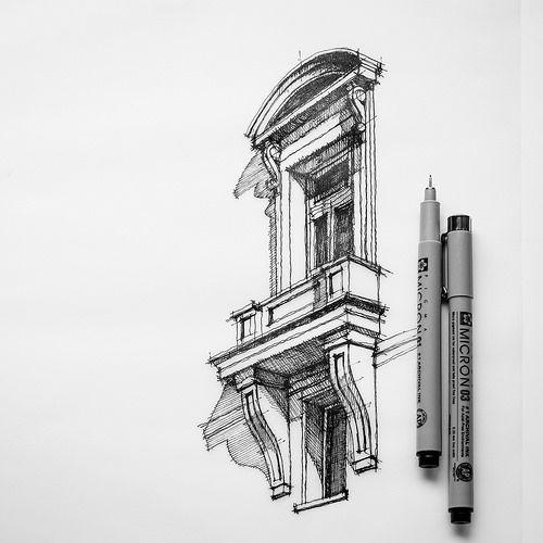 A little more detail sf perspektive zeichnen - Architektur zeichnen ...