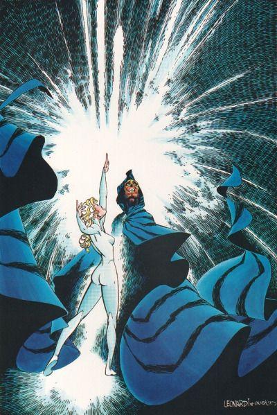 1984 - Cloak & Dagger Portfolio Part #2By Rick Leonardi and Terry Austin