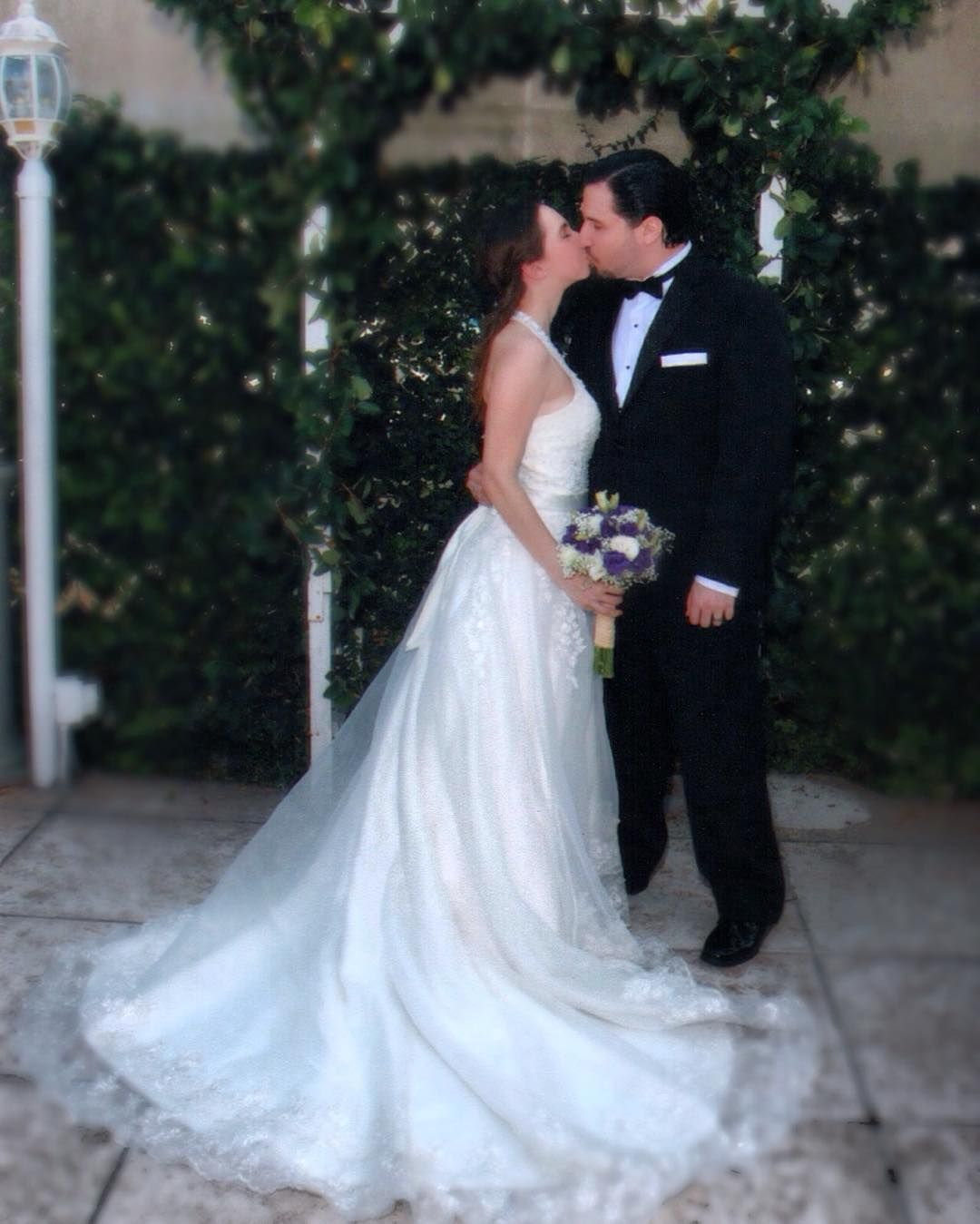 I am feeling so nostalgic today. It has almost been one year.  #chribecca #FBF #myweddingday