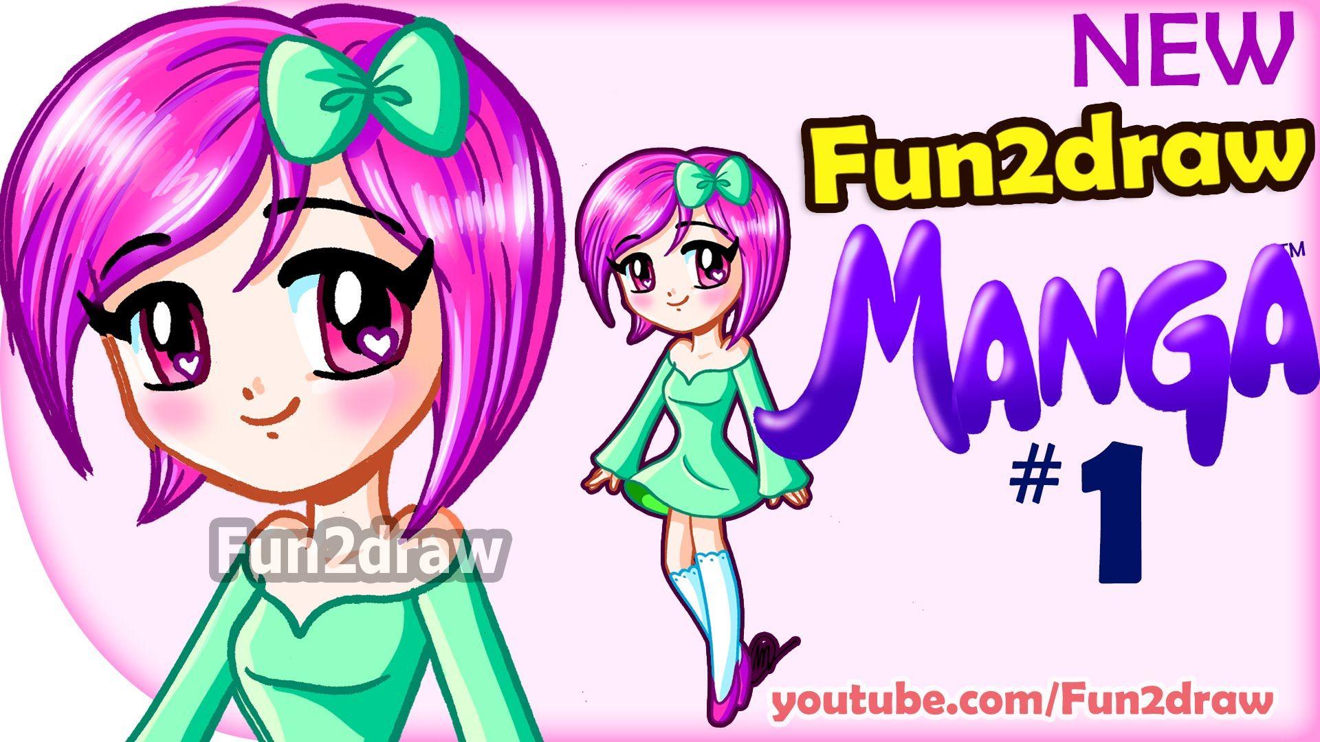 How to draw anime manga easy new fundraw manga cute girl