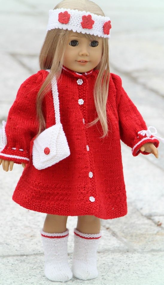 knitting patterns for american girl doll clothes | knitting ...