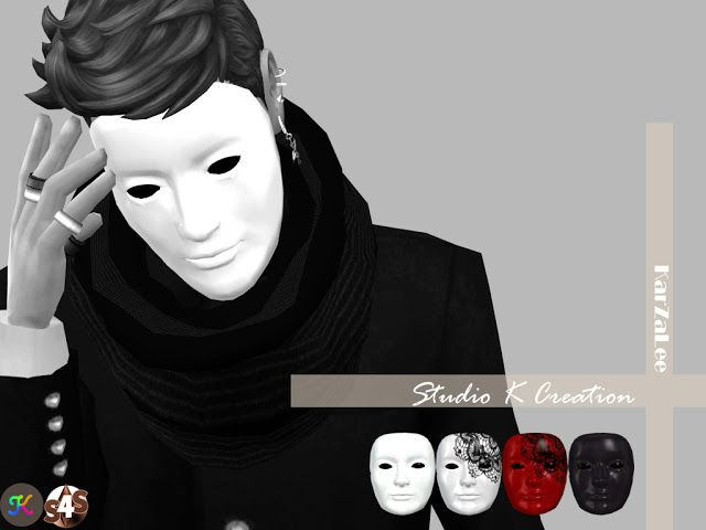 Sims 4 CC's - The Best: Anonymous Mask by Karzalee | sims 4 must