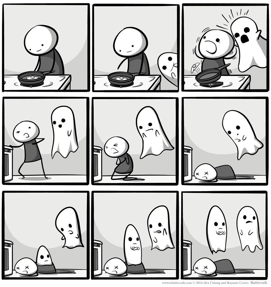 awkward... (With images) Reddit funny, Ghost comic