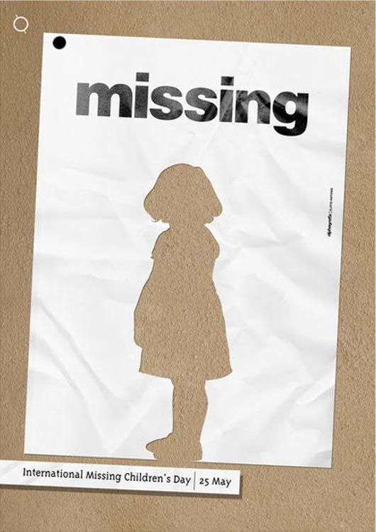 17 Imaginary Ad Design From deviantART Art director and Adobe - missing persons poster template