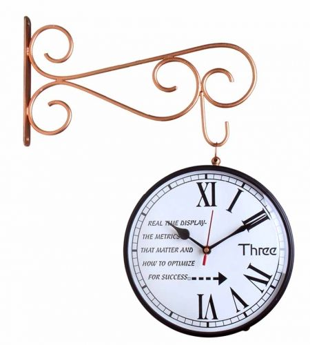 shop online double sided london station wall clock wall clocks best price