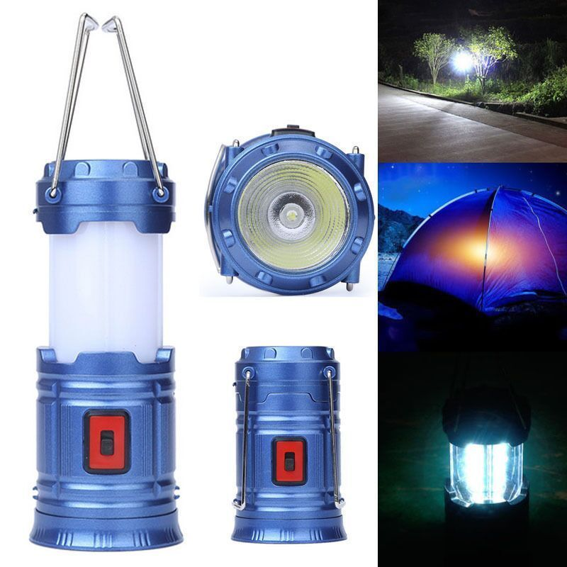 Portable COB LED Super Bright Camping Lantern Tent Camping Outdoor Lamp Light