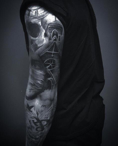 Gothic Sleeve Tattoo By Craig Mcdonagh Tattoo Sleeve Men Best Sleeve Tattoos Tattoos For Guys