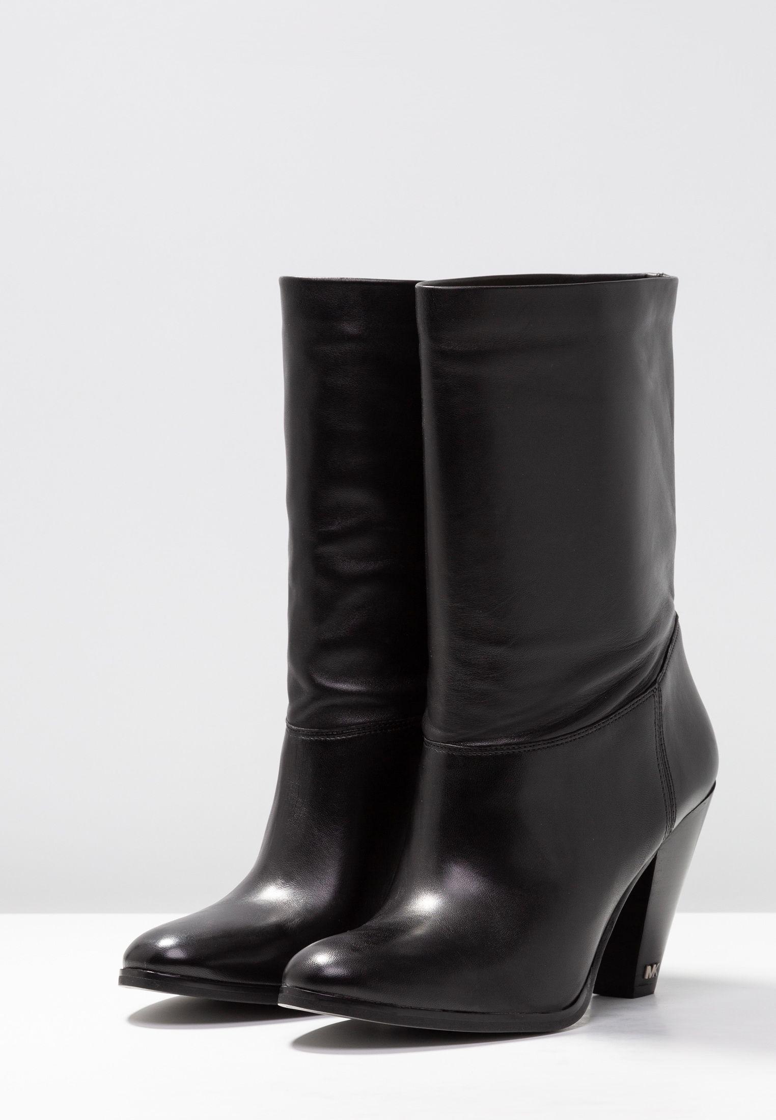 27bf880b2a5 MICHAEL Michael Kors DIVA BOOTIE - Laarzen met hoge hak - black - Zalando.be