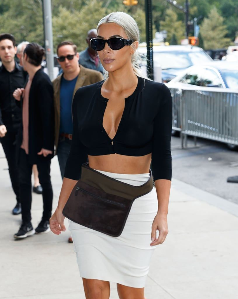 Cropped, Oversized, or Embellished — the '90s Cardigan Trend Is Back as We Know It #kimkardashian
