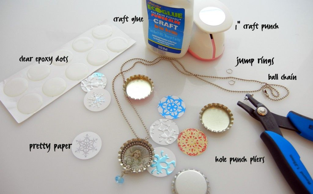 Everything you need to make bottle cap jewelry bottle cap for What can you make with bottle caps